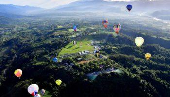 Balonista de Torres participa de festival em Taiwan 03